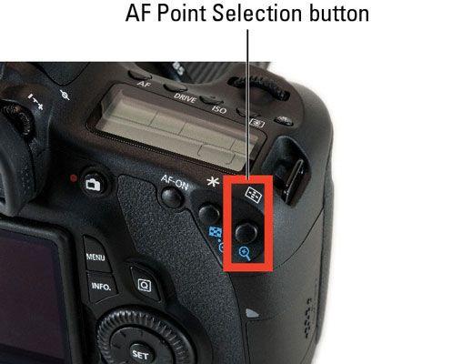 ���� - Como seleccionar um ponto de focagem automática com uma Canon EOS 60D