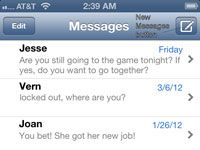 ���� - Como enviar mensagens de texto no iPhone 5