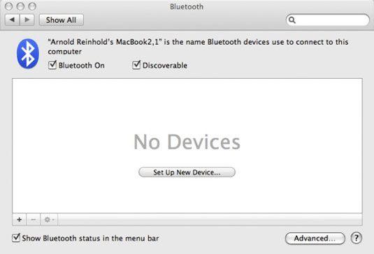 ���� - Como configurar o Bluetooth no seu Mac