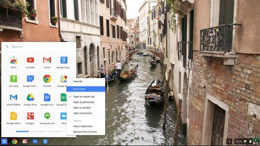 ���� - Como configurar Chromebook App Shortcuts