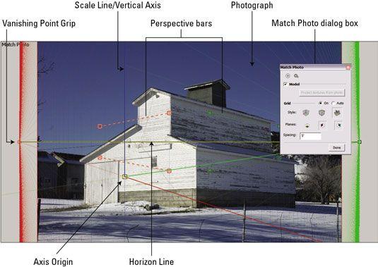 ���� - Como configurar para Photo-Matching no Google SketchUp 8
