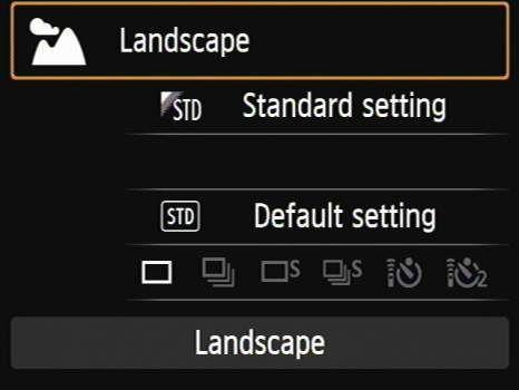 ���� - Como fotografar paisagens com modo paisagem do SCN na sua Canon EOS 6D