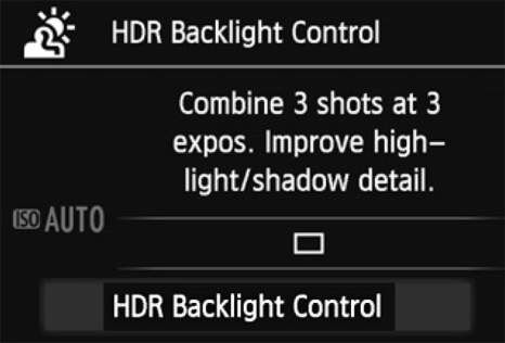 ���� - Como tirar fotografias com o modo HDR Backlight Controle SCN em sua Canon EOS 6D