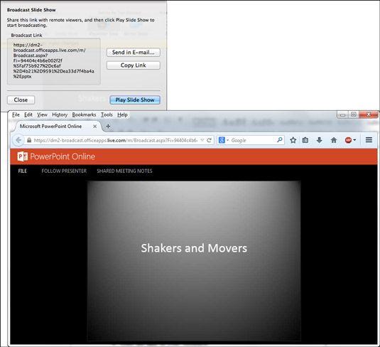 ���� - Como mostrar a apresentação do PowerPoint para outros on-line a partir do seu Mac
