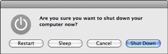 ���� - Como Desligar o seu Mac