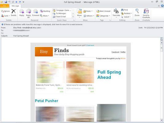 ���� - Como se inscrever para newsletters Etsy E-Mail