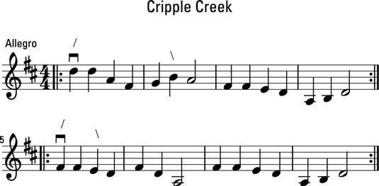 ���� - Como Deslize na Fiddle