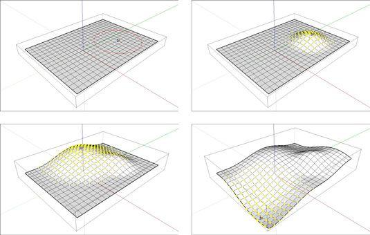���� - Como Smoove terreno existente no Google SketchUp 8