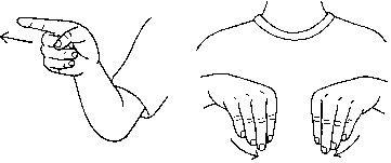 ���� - Como estruturar frases em American Sign Language