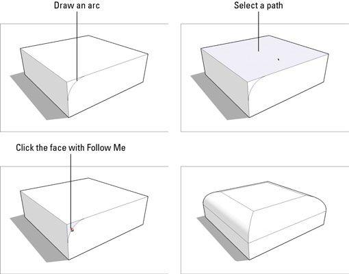 ���� - Como Subtrair a partir de um Modelo com Siga-me no Google SketchUp 8