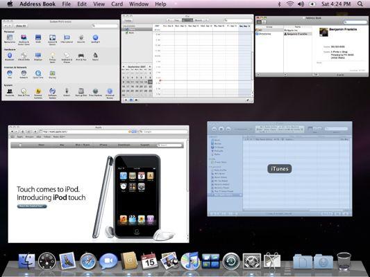 ���� - Como Mudar Entre aplicativos com o Mac OS X Snow Leopard
