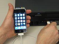 ���� - Como sincronizar o iPhone com o computador
