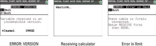 ���� - Como transferir arquivos entre a TI-84 Plus e outras calculadoras