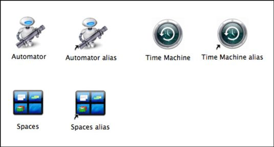 ���� - Como usar Aliases no Mac OS X Snow Leopard