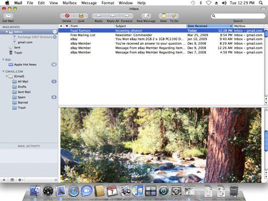 ���� - Como usar o Apple Mail no Mac OS X Snow Leopard