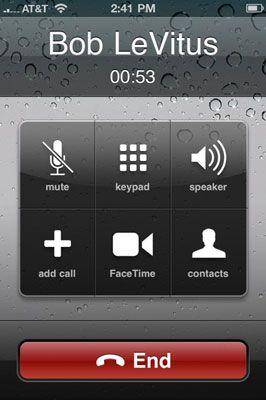 ���� - Como usar o FaceTime com o seu iPhone 4S