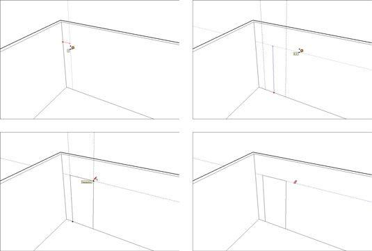 ���� - Como usar guias no Google SketchUp 8