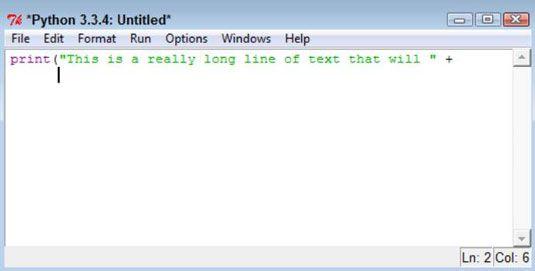 ���� - Como usar o recuo em Python Programming