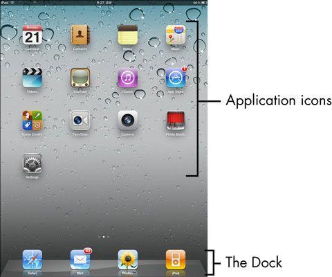 ���� - Como usar o ecrã táctil do iPad 2