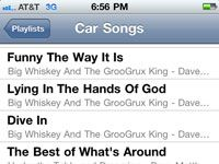���� - Como usar o iPod playlists em seu iPhone