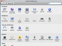 ���� - Como usar o software Mac OS X Snow Leopard para compartilhar uma conexão Internet