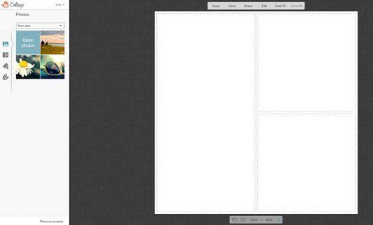 ���� - Como usar PicMonkey para projetar seu site de mídia social