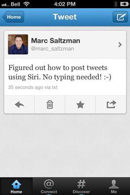 Publique o seu tweet.