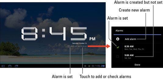 ���� - Como usar o Despertador no seu Galaxy Tab