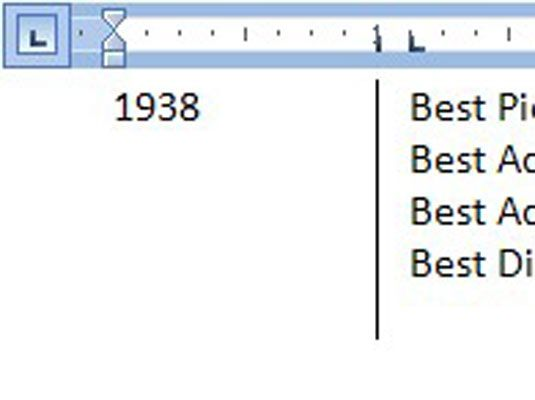 A linha vertical aparece sempre, mesmo quando nenhum texto ou guias são usadas.