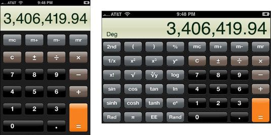 ���� - Como utilizar a calculadora no seu iPhone