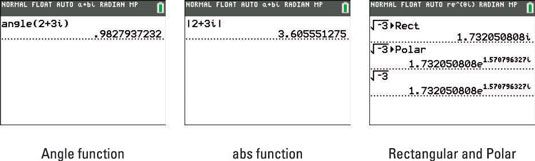 ���� - Como usar o Menu CMPLX na TI-84 Plus