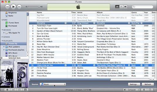 ���� - Como usar o iTunes DJ