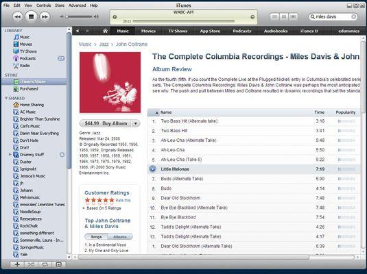 ���� - Como usar o iTunes Recurso de Pesquisa