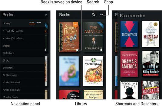 ���� - Como usar o Kindle App no telefone Amazon Fogo