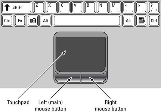 ���� - Como utilizar o Laptop Mouse Pad