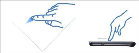 ���� - Como usar o ecrã táctil Samsung Galaxy S 5