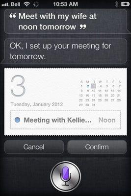 ���� - Como usar o Calendário Siri