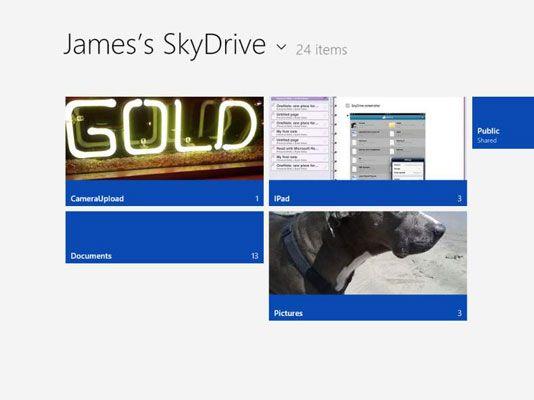 ���� - Como usar o Windows 8 SkyDrive App no OneNote 2013
