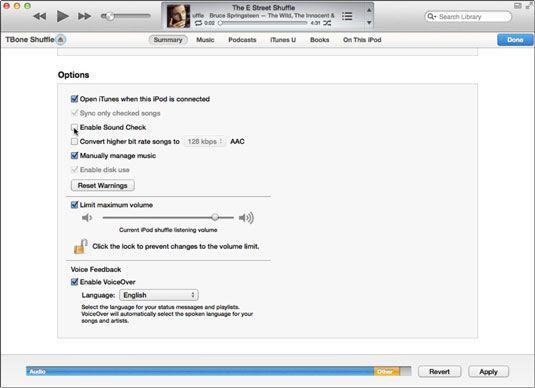 ���� - Como usar o VoiceOver no seu iPod Shuffle