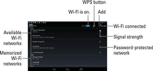���� - Como usar rede sem fio no Tablet Nexus 7