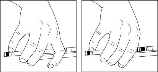���� - Como usar o seu dedo indicador ao tocar o violino