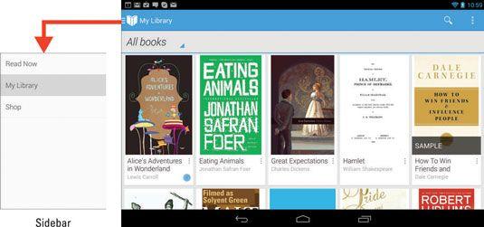 ���� - Como usar seu Tablet Nexus 7 como um leitor de ebook