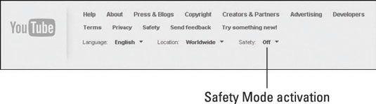 ���� - Como usar o Modo de segurança do YouTube para proteger seus filhos