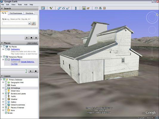 ���� - Como exibir seu modelo SketchUp Google no Google Earth