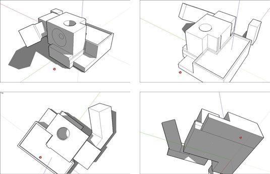���� - Como exibir o seu trabalho no Google SketchUp 8