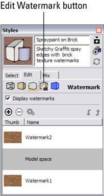 ���� - Como trabalhar com marcas d'água no Google SketchUp 8