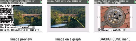 ���� - Inserção de Imagens como Gráfico Fundos da TI-84