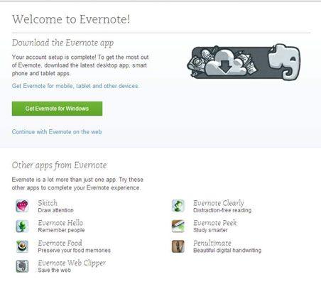 ���� - Instale Evernote em computadores Macintosh