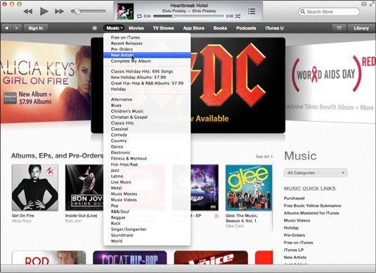 ���� - Introdução ao iTunes Multimedia Comercial