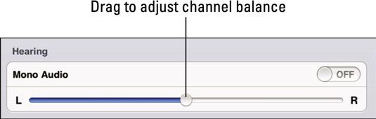 ���� - Características iPad de acessibilidade para deficientes auditivos Estudantes